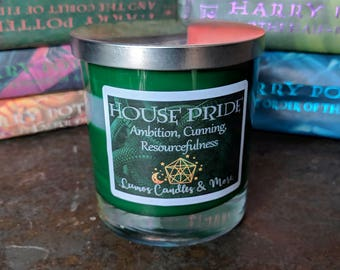 House Pride Candle - Ambition Cunning Resourcefulness