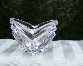 Mikasa German Glass Candle Holder