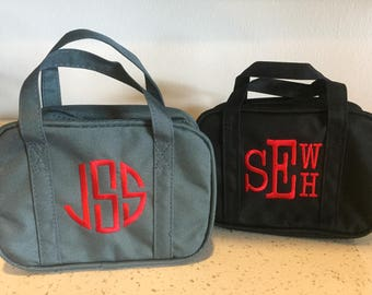Monogrammed LDS Scripture bag, Baptsim gift, bible tote, Monogrammed with handles