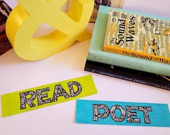 Bookmarks ~ Word Art