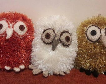 Tingle knitted Owls