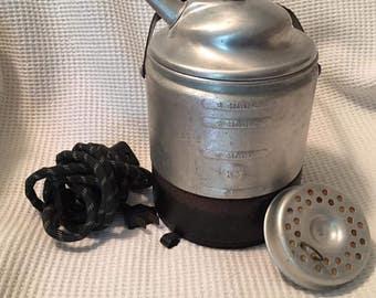 Vintage -KNAPP-Monarch-Co-Electric-Steam-VAPORIZER-aluminum
