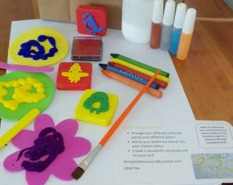 Kirsty's Little Learners - Stamping activity box