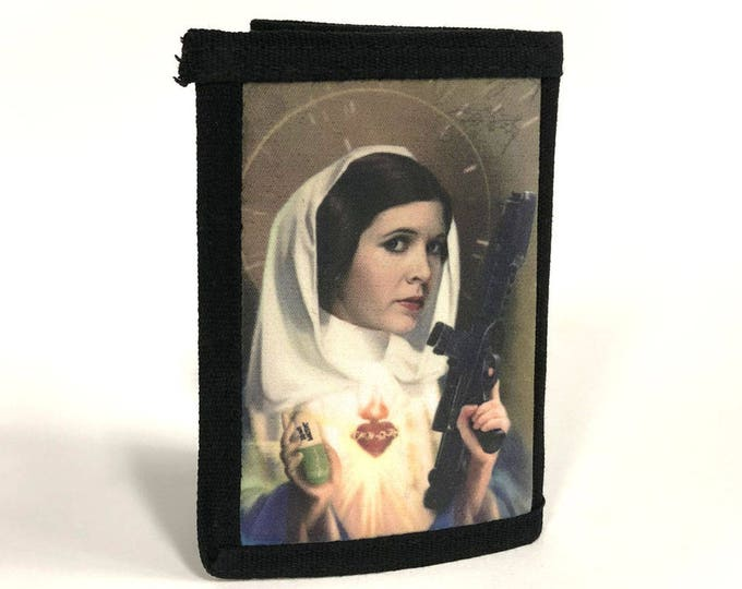Wallet-Princess-Sacred heart-space movie-stars-hollywood-Sublimation-Gift for Friend