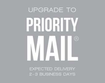 UPGRADE : Priority Mail® via USPS