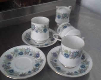 3 Paragon Cherwell Cups and Saucers and Jug