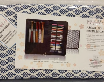 """Knitters Pride Pro """"Assorted Needles Case"""", Knitting and Crochet Needle Storage"""