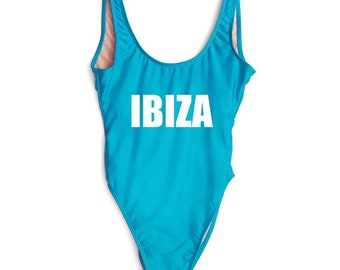 IBIZA - Bathing suit, swim suit, one piece