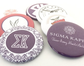 Sigma Kappa Pocket Mirrors and Magnets