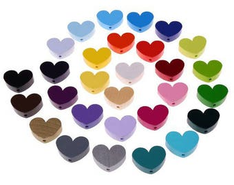 "The Golden bead pattern ""heart"""