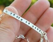 Custom sterling silver br...