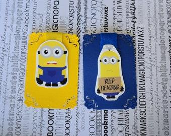 Minion magnetic Bookmark