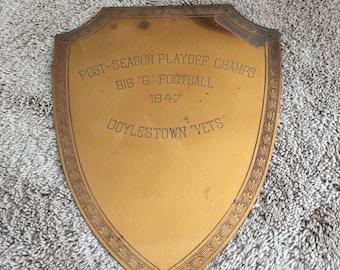 Wall decor-1947 Award