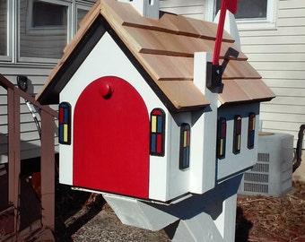 Country Church Mailbox