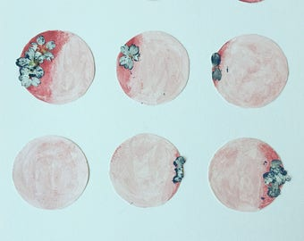 Blossoming Moon Phases