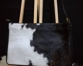 Leather and Pony Bag