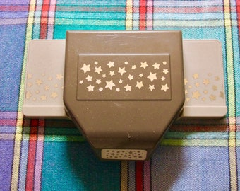 Used excellent condition!! Stampin' Up! retired Confetti Stars border paper punch