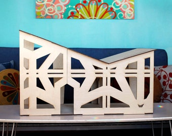 The BUTTERFLY Dollhouse - 1:12 Scale - An original, designer miniature wooden house for kids and collectors