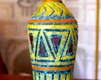 Italian Ceramic Vase in the Style of Bittosi