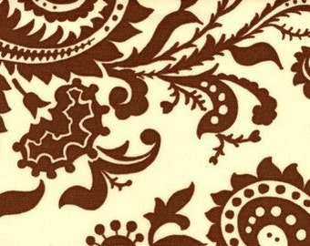Ivory - Amy Butler Nigella - Wood Fern - HDABS3 100% Home Decor Cotton Sateen 54 inches Wide Available in Yards or Half Yards