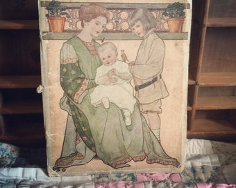FREE SHIPPING on this 1920 hand book for Mothers by Procter and Gamble. Awesome vintage ephemera.