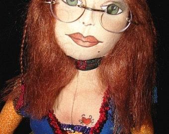Art Doll-Jolene-OOAK (Made by Request)