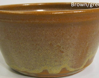 Handmade Pottery Cereal Bowl, For soup or salad, Microwaveable, 18 ounces