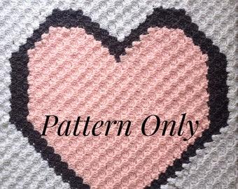 Made With Love Corner To Corner Crochet Blanket Pattern