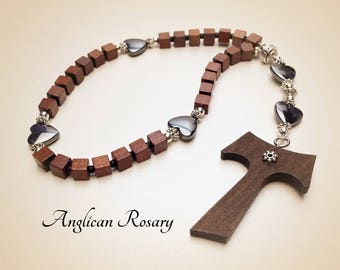 Anglican Rosary. Christian Rosary. Anglican Prayer Beads. Protestant Prayer Beads. Episcopal Rosary. Christian Gifts. #AR7