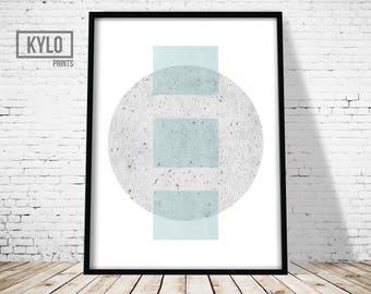 Geometric Wall Art, Scandinavian print, Modern Print, Abstract Print, Home Decor, Minimalist Print, Scandinavian Wall Art, Home Wall Art