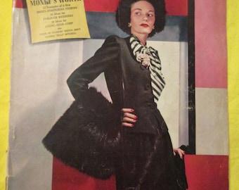 1942 VOGUE Fashion MAGAZINE