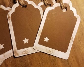 Rustic Star Gift Tags