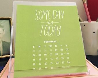 2018 Desktop Calendar - Get Motivated. Be Inspired.