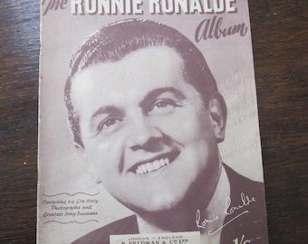 Ronny Ronalde Album Sheet Music, Bio, Photos 1943