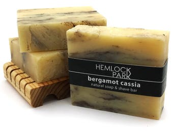 Soap & Shave Bar | Bergamot Cassia