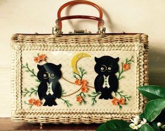 Charming by Atlas Wicker & Bakelite Handbag