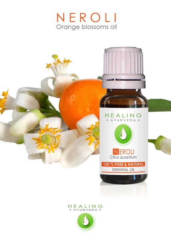Neroli - Orange blossoms oil- 100% Neroli essential oil- Natural Orange flower oil- Aromtherapy essentil oil- Hair care- bath & beauty oil