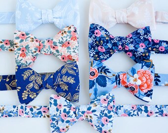 Bow Ties, Bow Tie, Bowties, Mens Bow Ties, Freestyle Bow Ties, Self-Tie Bow Ties, Wedding Ties, Rifle Paper Co - Rifle Paper Co Collection