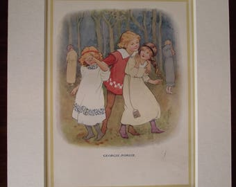 Original 1930's Edition 'Mother Goose Nursery Rhymes'
