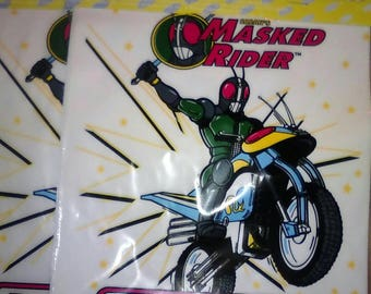 Vintage 90s Kid Party Favor Loot Goodie Treat Bags Saban's Masked Rider Kamen Rider NOS 2 Packs