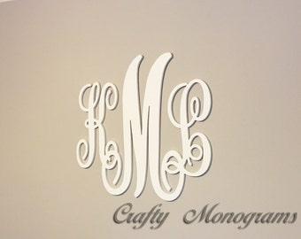 24 x 26 Nursery Decor, Wooden Monogram, Wall Art, Large Wood monogram, Wedding Decor