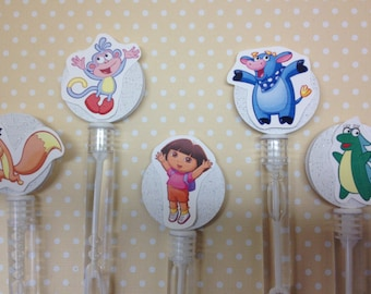 Dora the Explorer Party Bubble Favors - Set of 10