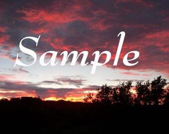 Sunrise San Diego No Five Photo Art, Wall Art, Download and Print Wall Art