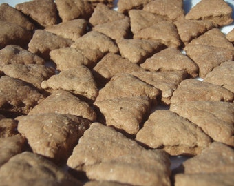 Vegan Dog Treats - Ginger Yaps - - All Natural Dog Treats Organic Vegetarian - Shorty's Gourmet Treats