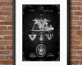 Gas Stove Patent Wall Art Poster Gas Stove Patent Print Kitchen Decoration, Restaurant Wall Decor Digital Download Instant Art Printable