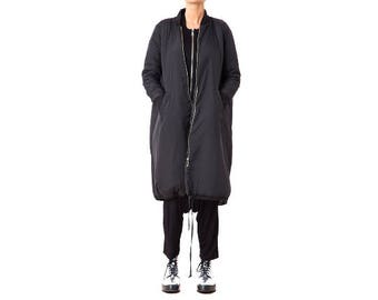Long Coat, Black Coat, Winter Maxi Coat, Black Maxi Coat, Winter Cape Coat, Women Coat, Black Jacket, Winter Jacket, Long Jacket Women