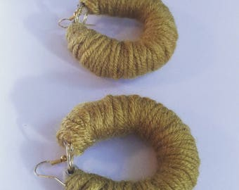 Mini Yarn hoops