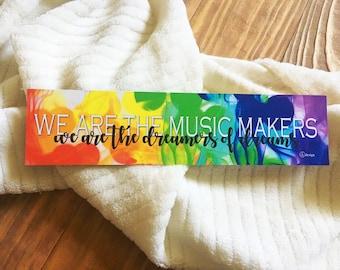 Music Makers Bookmark