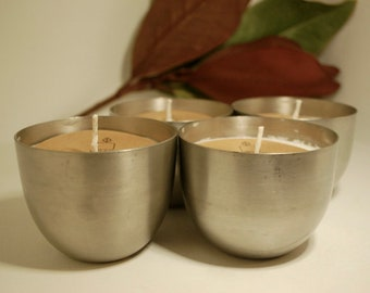 Pewter Jefferson Cup Soy Candle