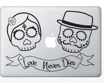 Sugar Skull Vinyl Decal